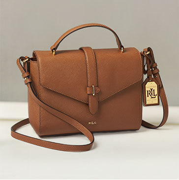 Medium messenger bag in brown